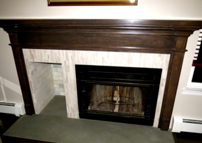 Millwood Mantel Refinishing Project Photo 3