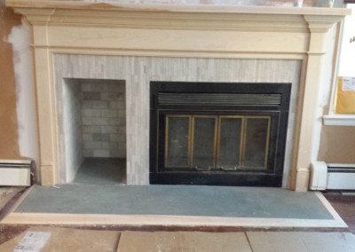 Millwood Mantel Refinishing Project