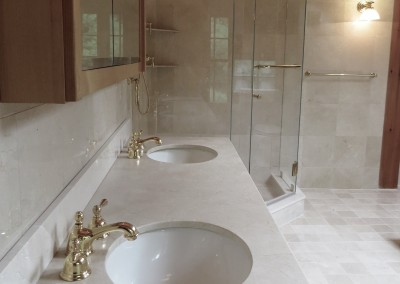 Croton Luxury Master Bathroom Renovation Project-alternate view