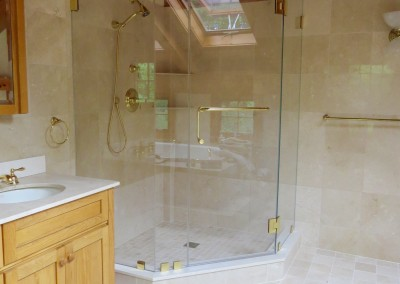 Croton Luxury Master Bathroom Renovation Project-shower