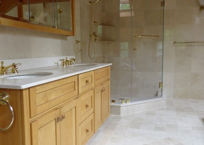 Croton Luxury Master Bathroom Renovation Project-vanity