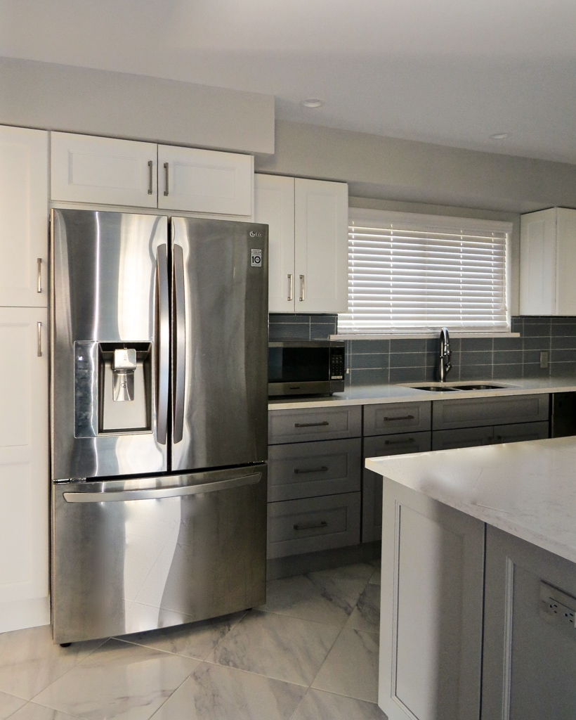 New rochelle modern kitchen remodeling project gustavo for Modern kitchen renovations