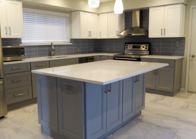 New Rochelle Modern Kitchen Remodeling Project-2