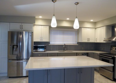 New Rochelle Modern Kitchen Remodeling Project-3