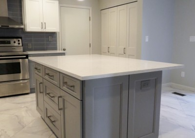 New Rochelle Modern Kitchen Remodeling Project-6