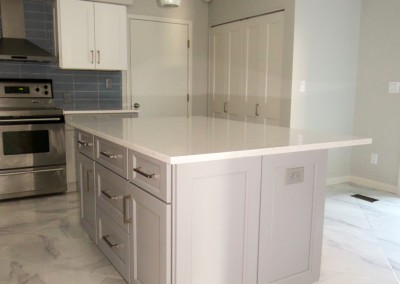New Rochelle Modern Kitchen Remodeling Project-8
