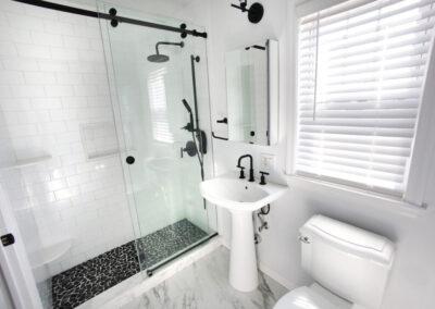Eastchester Black & White Bathroom